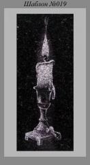 Художественное Оформление памятника Свеча