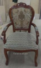 Перетяжка кресла Киев(1)