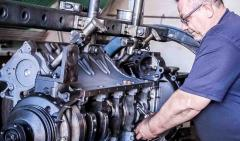 Diagnostics and repair of engines of vehicles DAF