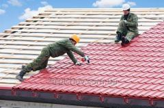 Repair of a roof