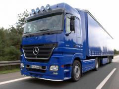 Сервис грузовых автомобилей MERCEDES