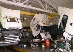 Сервис грузовых автомобилей SCANIA