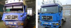 Автосервис грузовиков МАН