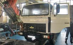 Автосервис грузовиков МАЗ