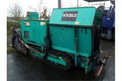 Rent of an asphalt spreader of Vogele Super Boy