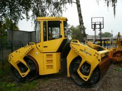 Bomag repair of equipmen