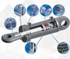 Repair of hydraulic equipment