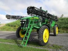 Rent of sprayers