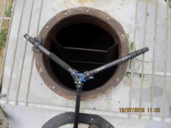 Repair of tanks for mineral oil