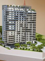 Изготовление макета жилого комплекса