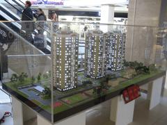 Макет жилого комплекса под ключ