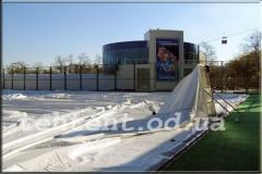 Manufacturing of frame tent structures on order