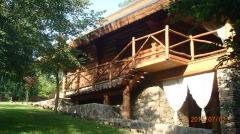 Construção de casas de madeira