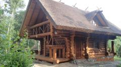 Construção de casas de campo