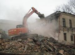 Dismantle of industrial and civil buildings and
