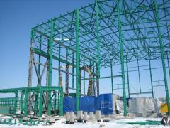 Горячее цинкование Строительных конструкций каркасов зданий с повышенной влажностью