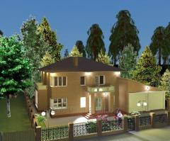 3D визуализация домов и зданий