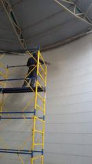 Coloring of aluminum constructions