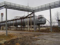 Works on protection metal construction in the