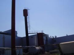 Anticorrosive protection of a water tower