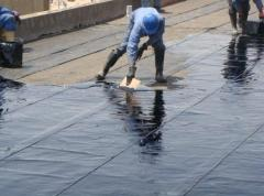 Waterproofing of roofs