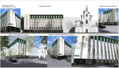 Реконстркция нежилого здания