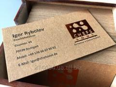 Печать и объемное тиснение на конвертах