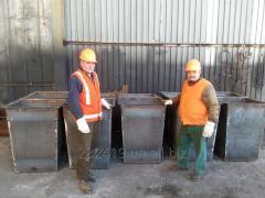 Изготовление контейнеров для мусора