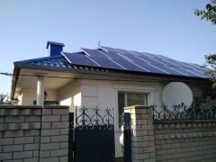 Сетевые солнечные станции 3 - 30 кВт (подбор оборудования и монтаж)