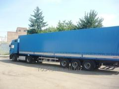 Forwarding of freights from Ukraine to Europe