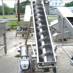 Repair of shnekovy conveyors