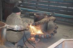 Repair of the mountain - mine equipment