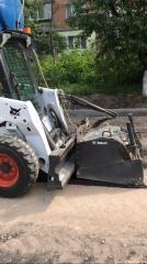 Rental of road-building equipment