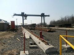 Строительство подкрановых путей
