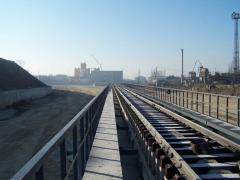 Строительство эстакад с железнодорожными путями