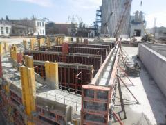 Строительство сооружений из монолитного и сборного железобетона