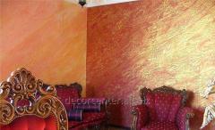 Отделка стен под цвет и блеск мебели