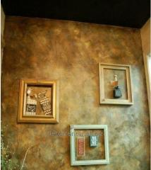Decorative plastering work