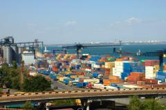 Транспортировка контейнеров по ж / д в / из портов Одесса, Южный, Черноморск