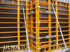 Аренда вертикальной стеновой опалубки Primo (рамная)