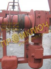 Repair of lifting equipment