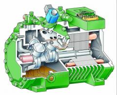 Repair and rewind of the piston compressors