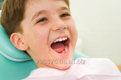 Герметизация фиссур (профилактика кариеса у детей 6-7 лет)