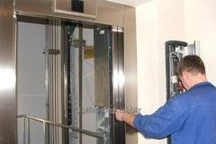 Technical service of elevators