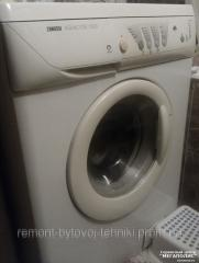 Repair of the Zanussi washing machine
