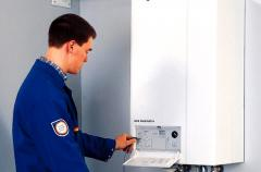 Installation of gas boilers