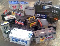 Purchase of scrap batteries