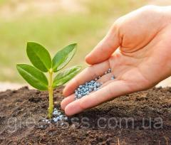 Application of fertilizers under medium-sized