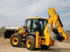 JCB 4CX excavator loader