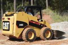 Caterpillar 246C mini-loader